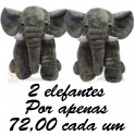 Elefante flor kit com 2