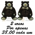 Urso foffys kit com 2