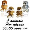 Felinos kit com 4