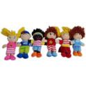 Bonecas variadas kit com 6