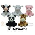Animais sortidos - kit com 5