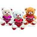 Urso Love kit com 3
