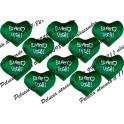 Coração sem braço PP kit com 10 unidades