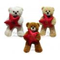 Ursos laço - kit com 3