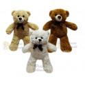 Urso foffys kit com 3