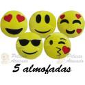 Kit: 5 Almofadas Whatsapp P