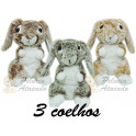 Kit: 3 Coelhos Mesclados