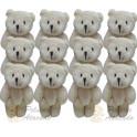 Kit: 50 Ursinhos Chaveiros articulado