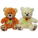 Urso laço com flor kit com 2