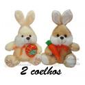 Kit: 2 Coelhos com Cenoura