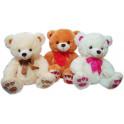 Urso laço kit com 3