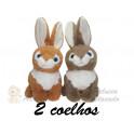 Kit: 2 Coelhos