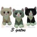 Gatos kit com 3