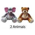 Animais sortidos - kit com 2