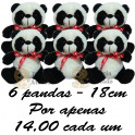 Panda kit com 6