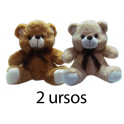 Kit: 2 Ursos de Laço