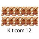 Kit: 12 Ursinhos Brancos