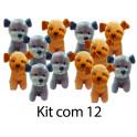 Cachorrinhos kit com 12