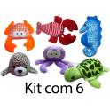 Animais marinhos Kit Com 2