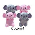 Kit: 4 Elefantes
