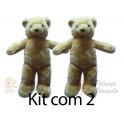Kit: 2 Ursos Ted