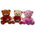 Urso te amo kit com 3