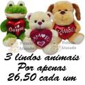 Animais kit com 3