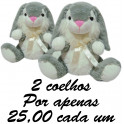 Coelho dengoso - kit com 2