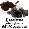 Cachorro fofura - kit com 2