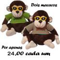 Macaco de óculos kit com 2
