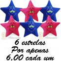 Estrela apaixonada kit com 6